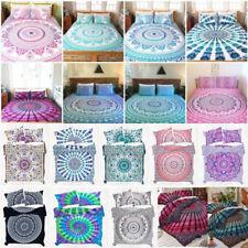 BOHEMIAN MANDALA Kids Bedding BEDSPREAD Set Hippie Twin Bedding Bedsheet Set