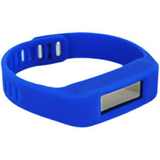 Max Boost Power Fitness Band Bluetooth Calorie Count Date Time BLUE
