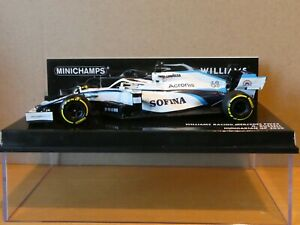 Minichamps 1:43 George Russell Williams FW43 Hungarian GP F1 2020 new 417200163