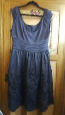 Gorgeous ADRIANNA PAPELL ladies  short sleeve special occasion dress (size 10)