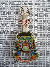 Hard Rock Cafe Aruba - Divi Three - Guitar with HRC Logo Magnet Bottle Opener