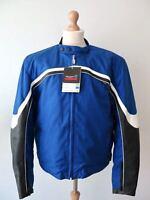 TRIUMPH Redline Wasserdicht Cordura Leder-Textiljacke Motorradjacke Gr. 3XL - 60