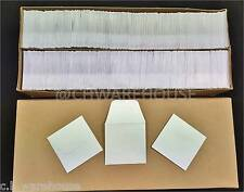 2000/Pk - 2x2 COIN ENVELOPES MH Paper White Gummed Seal Acid Free