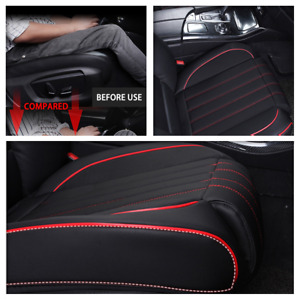 Universal 5D Car Seat Cover Waterproof PU Leather Mat Fit For Auto Chair Cushion