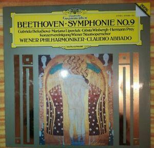 Beethoven Symphonia 9 Claudio Abbado LP