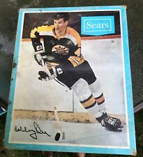 1970's Vintage Bobby Orr Empty Skate Box from Sears - Great Collectible!