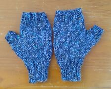 Handknitted Ladies Wristwarmers Fingerless Gloves Mittens