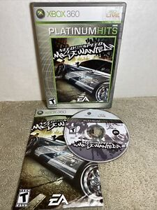 EA Need For Speed Most Wanted Microsoft Xbox 360 Video Game w/ Booklet 2005