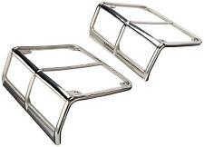 Smittybilt Euro Tail Light Guards - Stainless Steel for 07-14 Jeep Wrangler (JK)