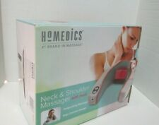 HoMedics Neck And Shoulder Massager With Heat Model NMSQ-210GR In Box