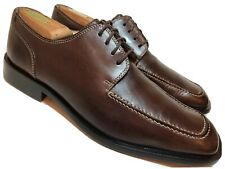 KENNETH COLE New York Mens 10 Brown Leather Oxfords Dress Casual Shoes Moc Toe