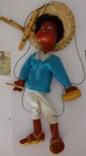 Doll-puppet in the costume of a Mexican.1990s Free International Shipping