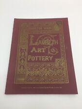 Vintage 1975 Fine Art Society Catalogue Of Doulton Pottery from Lambeth Studios