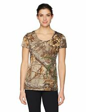 Under Armour UA Womens Threadborne Early Season Camo SS RealTree Size M L $40