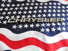 US SCHRIFTZUG CHRYSLER Auto Car Emblem Deko Logo Typ Type Modell Badge Mode USA
