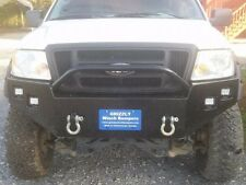 "GRIZZLY'S FRONT ""PRO WORK"" PLATE BUMPER 2004-2008 FORD F150 W/ 4 Light Cut Outs"