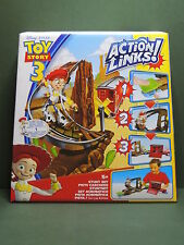TOY STORY 3 Playset Action Links & mini Figure Figurine Disney Pixar Stunt set 2