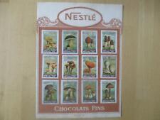 Nestlé Schokolade Serie VIII Pilze + Serie VII Sport - je 12 Stück