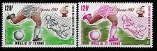 Timbre Poste Aérienne N° 112 et 116  de Wallis et Futuna neufs **