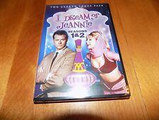 I DREAM OF JEANNIE SEASONS 1 + 2 Season One Two TV Comedy Series 6 DVD SET NEW