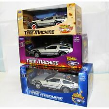 Welly TY123 Back to the Future BTTF Set of 3 Delorean 1:24 Diecast Model Cars