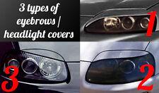 Toyota Supra Headlight Eyebrows Eyelids Covers 3 Types for Bodykit, Styling v5