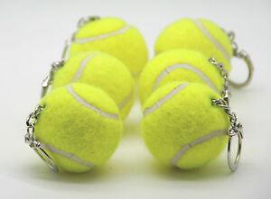 Price's Tennis Ball Key Rings (6 key rings)