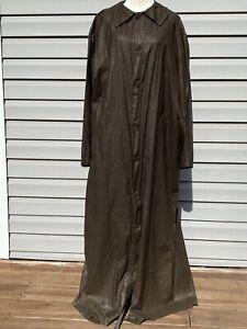 ANTIQUE ODD FELLOWS Robe IOOF REGALIA Long Brown Robe COSTUME
