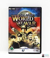 PC Computer Spiel - GARY GRIGSBYS WORLD AT WAR - Win98 2000 ME XP - Komplett OVP