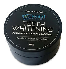 2 x Activated Coconut Charcoal Teeth Whitening Powder