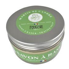 Martin de Candre Fougère Luxurious Handmade Vegan Shaving Soap 200g (Fern)