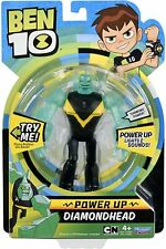 Ben 10 Diamondhead Power Up Action Figure Lights Sounds Talk Kids Toy Gift Boys