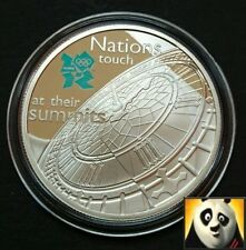 2009 £5 Five Pound BIG BEN London 2012 Olympic Games Silver Proof Crown Coin