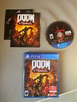 Doom Eternal (Sony Playstation 4 PS4 2020) Bethesda SUPER FAST SAME-DAY SHIPPING