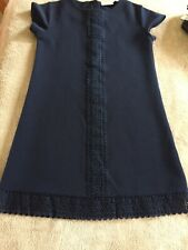 Girls Next Navy Dress Age 10 years..... worn once