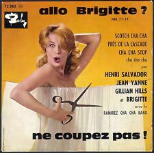 GILLIAN HILLS JEAN YANNE HENRI SALVADOR ALLO BRIGITTE 45T EP BIEM BARCLAY 72.383