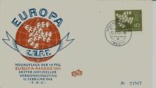 BRD FDC MiNr 367y (4e) Europa (CEPT) 1962 -Vereinigung-Gemeinschaft-Politik-