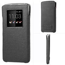 New Genuine BlackBerry Smart Pocket Pouch Window Sleeve Case Cover For DTEK60