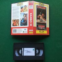 VHS Film RAMBO III 3 Sylvester Stallone VIVIVIDEO (1990) DGVS 10028