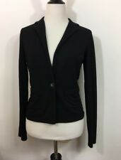 CAbi Blazer Womens Size XS Black Soft Knit Stretch Jacket