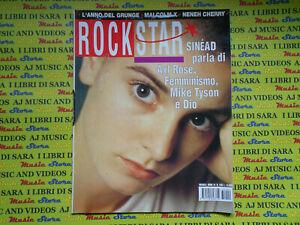 rivista ROCKSTAR 149/1993 Sinead O'Connor Litfiba Nirvana Fripp Sylvian  No cd