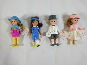 """McDonalds Madame Alexander 5"""" Mini-Doll *Choice* (3) 2003 & (1) 2005 Sleepy Eyes"""