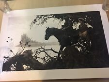 THE HOUND AND THE WOLF by AJ Frena Game of Thrones Poster Print SOLD OUT Rare