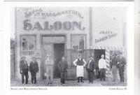 """*Idaho Postcard-""""Skogg & Wallenstein Saloon"""" *Idaho Falls (2-ID)"""