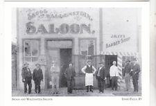 """*Idaho-""""Skogg & Wallenstein Saloon"""" *Idaho Falls  {Postcard} (2-ID)"""