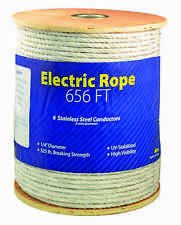 Economy Electric 1/4 Inch Thick Braid Rope Horse Fence 656ft Roll