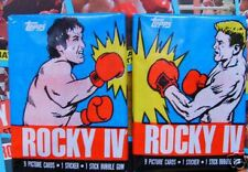36 x 1985   rocky iv wax packs / card packs