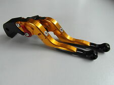 SUZUKI GSX R 1000 K7 K8 Levier d'em brayage, DE FREIN Kit noir, doré rouge