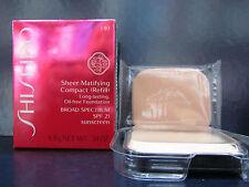 Shiseido Sheer Matifying Compact Foundation Refill I40 Natural Fair Ivory SPF22