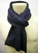 Sciarpa scarf uomo BIKKEMBERGS a.X513 S16 col.002 blu 26X170 cm Italy